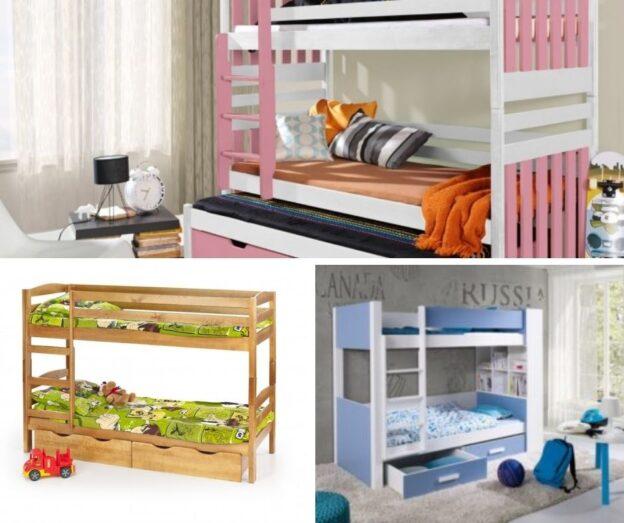 paturi etajate pt copii modele